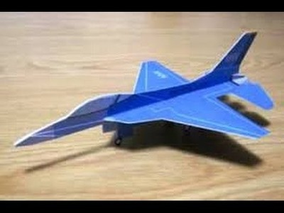 Origami Paper | Origami F22 Raptor Stealth | How To Make [ ORIGAMI FIGHTER JET ]