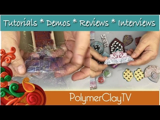 Polymer Clay DIY Fairy Fibers & More