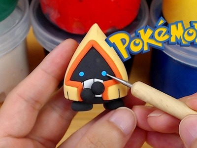 Sculpting Snorunt cute Ice-type Pokémon easily in Clay
