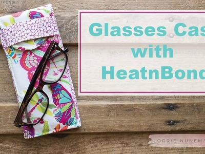 Sew a Stylish Sunglass Case with HeatnBond Fusible Fleece
