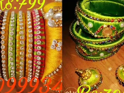 SILK THREAD BANGLES FOR SALE AT LOWEST PRICE