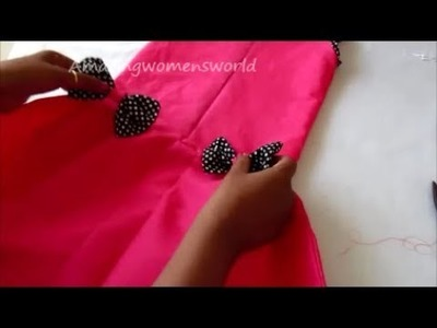 Simple Baby Frock. Dress Cutting and Stitching in Hindi - Complete Tutorial