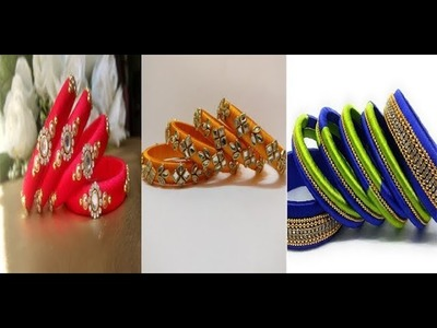 Simple & Easy Making Of Silk Thread Bangles Ideas