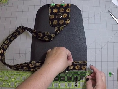 Speedwell Part 3 - Attaching the Strap, Slip Pockets & Zippered Pocket