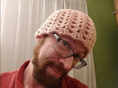 The Perfect Pink Shells Cap Crochet Tutorial!