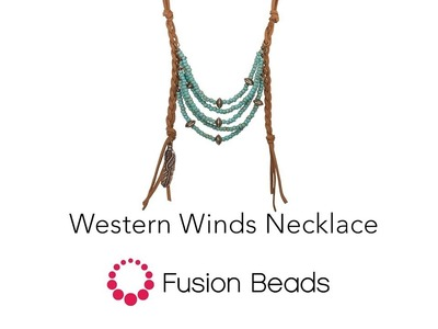 Watch Allison Make the Western Winds Necklace Featuring TierraCast by Fusion Beads
