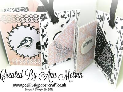 #3 Memories & More Monday-Fancy Fold Card