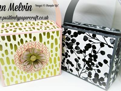 Beautiful Box Style Handbag with Magnetic Closure!