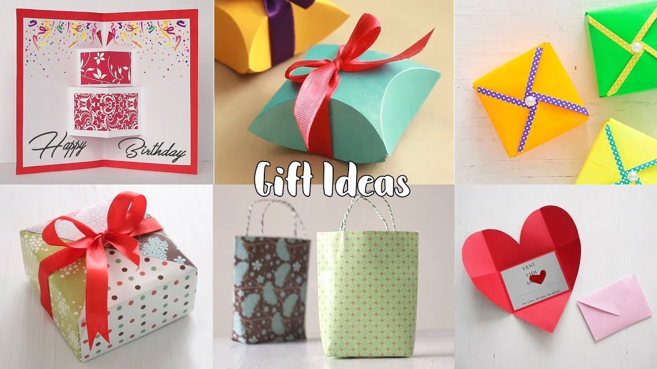 Birthday Gift Ideas Easy And Cheap DIY Presents