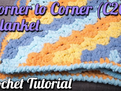 Corner to Corner (C2C) Blanket Tutorial