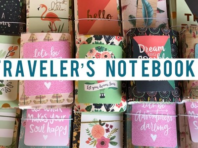 Craft Fair Idea #4:  Micro Traveler's Notebooks | 2018