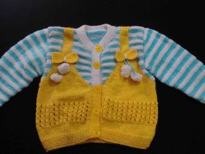 Designer Baby Sweater   Baby Baba Suit   Net Design   zali