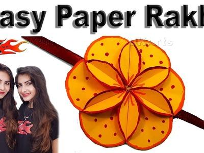 DIY Easy Paper Rakhi for Raksha Bandhan | JK Arts 1401