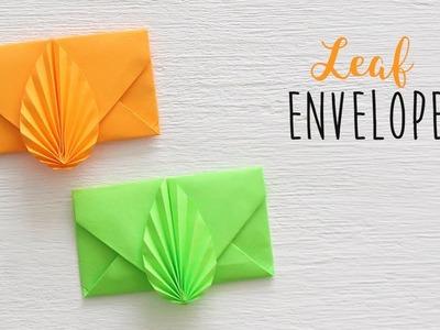 DIY: Leaf Envelope | Paper Envelope Making