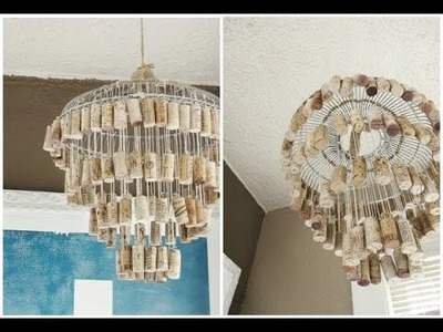 DIY Lighting Ideas: Lamps & Chandeliers Made From Everyday Objects