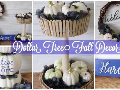 Dollar Tree DIY Fall Decor | Easy Fall Decor Ideas