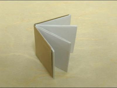 Easy Origami Mini Book Tutorial 簡單摺紙書本教學 Libro de papel fácil #简单折紙书本 ミニ本を折り紙で簡単に折る