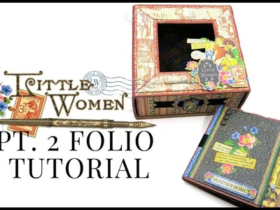 Folio Mini Album Tutorial: Club G45 Vol 3 (Part 2) Featuring Little Women