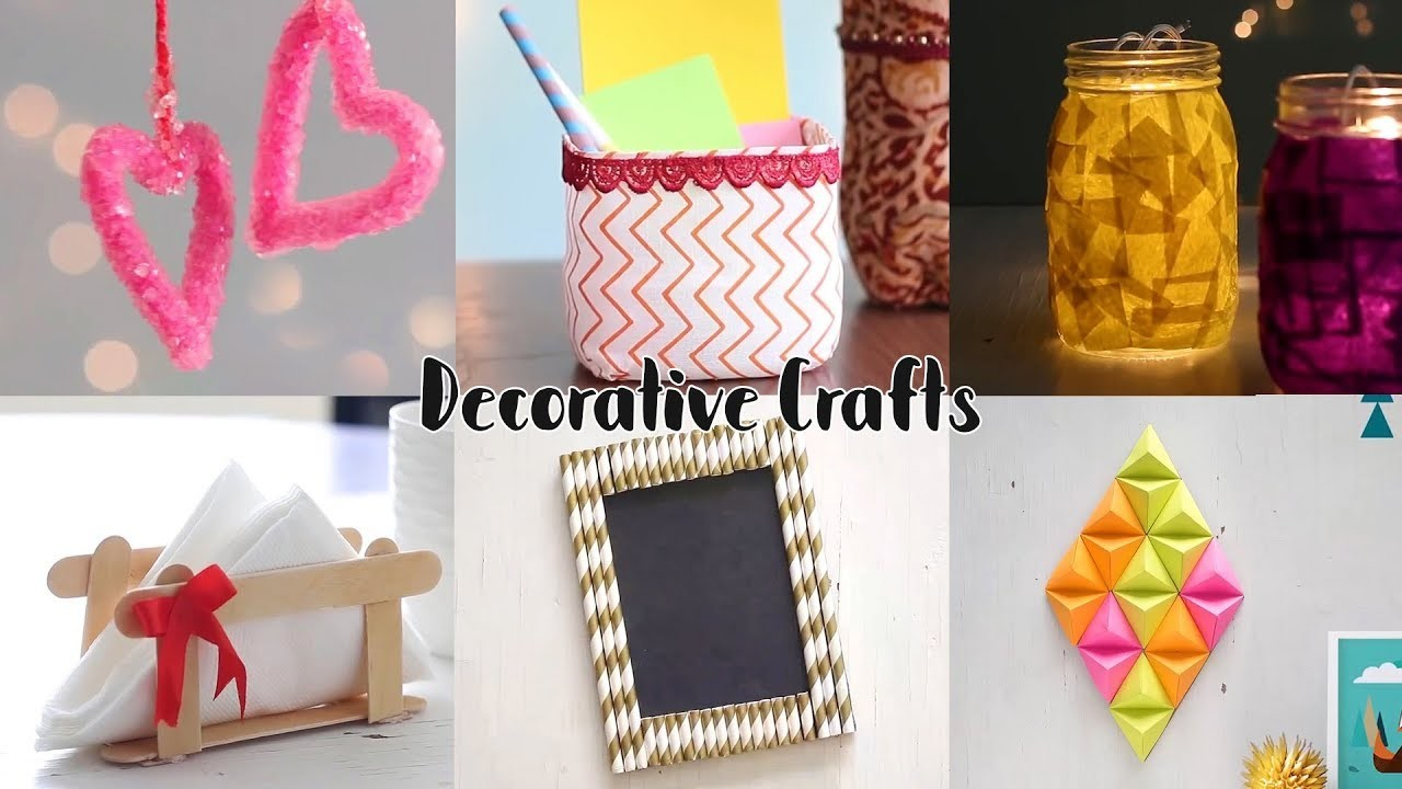 Home Decorative Craft Ideas   Unbelievably Helpful DIY