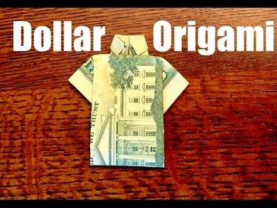 How to fold a dollar into a shirt (EASY) HD
