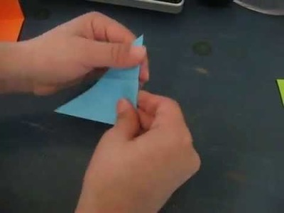 How to make a origami 3D triangle
