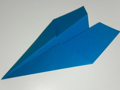 How to make a SIMPLE origami AIRPLANE diy