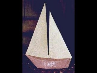 How To Make An Origami Sail Boat [HD]