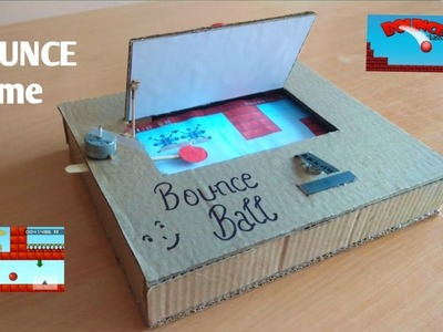 How to make Bounce Ball game from cardboard
