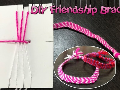 How to make friendship bracelet at home | DIY bracelet patterns