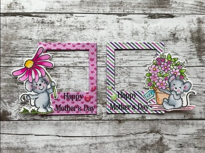 How To Make Mothers Day Polaroid Frame Magnets & Giveaway Winner | Stamp Create Repeat
