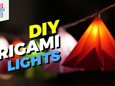 How to Make Origami Lights | Independence Day Special
