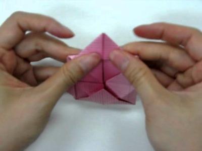 How to make - Origami Lotus