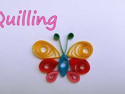 How to make Quilling Butterfly