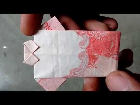 HOW TO MAKE SHIRT WITH NOTE ( 20  RS. NOTE SHIRT ) note ORIGAMI | #SuryaCraft