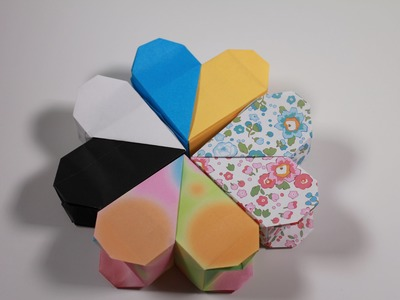 How to Origami Heart Box