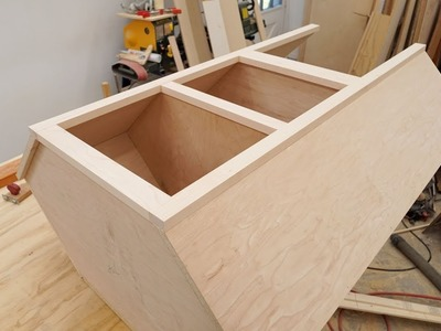Making A Corner Cabinet. Kitchen Cabinet