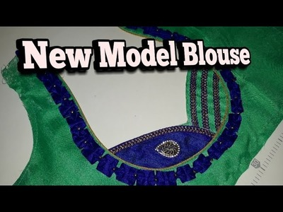 New model BLOUSE DESIGN cutting and stitching