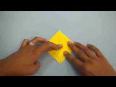 Origami Crane folding instructions (With images) | Origami crane ... | 300x400