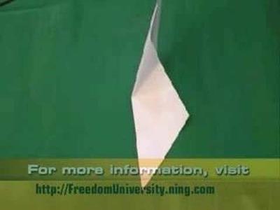 Origami Folding Instructions - Basic Folds - Part 2