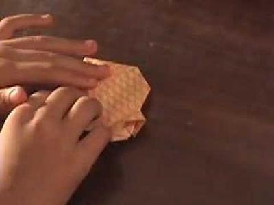 Origami Lantern.Japanese Cup