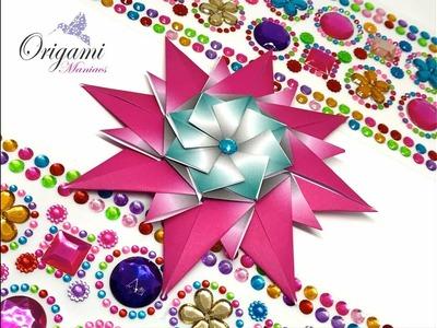 Origami Maniacs 333: Triple Star (Teabag Folding)