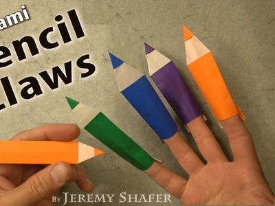 Origami Pencil Claws