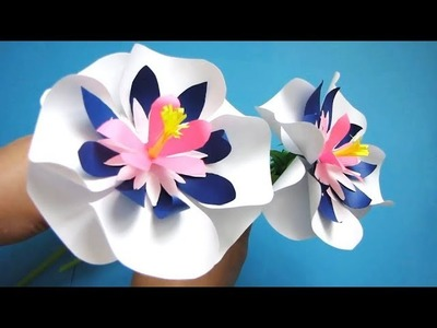 Paper Flower Stick 15 - DIY - Paper Craft - Handcraft