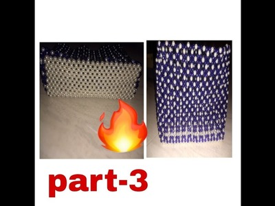 Part-3 how to make beads bag making