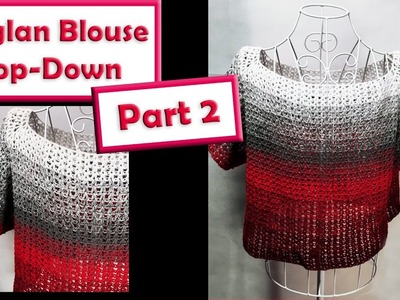 Raglan Blouse from the Top down Part 2