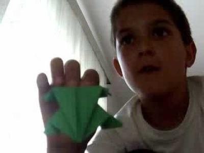 Fold an origami Space Monster (AKA Venus Flytrap) by Jeremy Shafer ... | 300x400