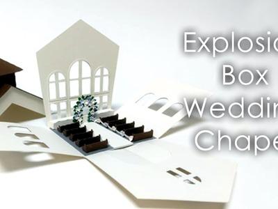 [Tutorial + Template] Explosion Box - Wedding Chapel Theme