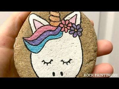 Unicorn Rocks ~ How to draw a unicorn