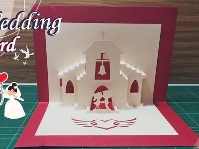 Wedding Card #01 - Pop-Up Card Tutorial