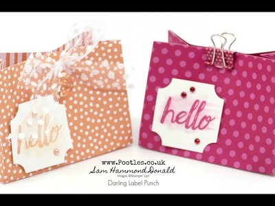 6x6 New Stampin' Up! In Colour Bag Tutorial